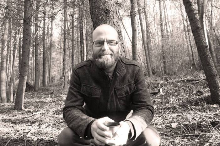 Edd Donovan sat in the woods